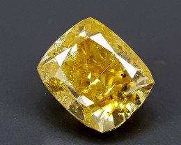 0.53CT FANCY DIAMOND BEST QUALITY GEMSTONE IIGC11