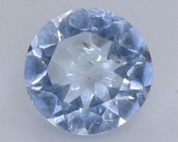 1.67 Crt Natural Aquamarine  Faceted Gemstone.( AB 2)