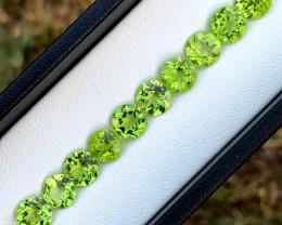 14.75 cts Olivine Green Peridot Gemstone Lot