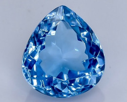 4.84 Crt Natural  Topaz Faceted Gemstone.( AB 2)