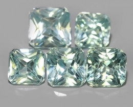 6.20 CTS~TOP LUSTROUS NATURAL CAMBODIA ~BLUE ZIRCON!!
