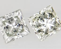 0.22 cts  , Sparkling natural diamond , Off White Diamonds