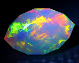 Welo Opal 2.91Ct Natural Ethiopian Play of Color Welo Opal A1701