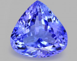 5.76 Ct Tanzanite Awesome Cut And Clarity Gemstone Tz5