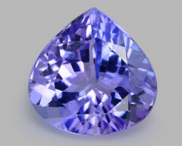 4.12 Ct Tanzanite Awesome Cut And Clarity Gemstone Tz6
