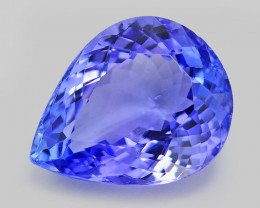 3.18 Ct Tanzanite Awesome Cut And Clarity Gemstone Tz9