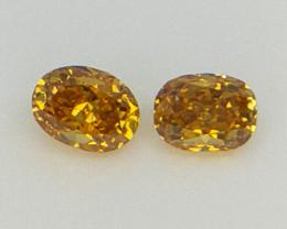 2/0.14 cts , Oval Brilliant Cut Diamond , Diamond for jewelry