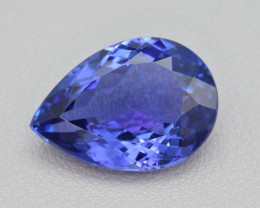Natural Tanzanite 12.76 Cts Top Grade  Faceted Gemstone