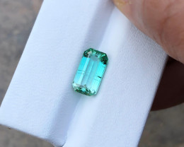 2.60 Ct Natural Greenish Blue Transparent Tourmaline Gemstone