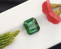Natural Green 4.45 Cts Tourmaline Gemstone