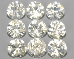 4.80 CTS EXCELLENT NATURAL WHITE ZIRCON~ ROUND  ~ NICE QUALITY GOOD LUSTER!