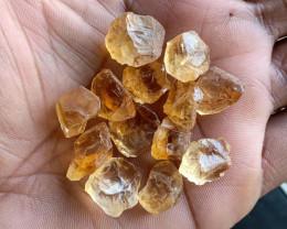 100 Ct Natural Citrine Gemstone Rough Parcel VA4955