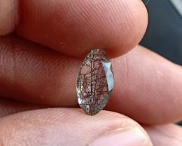 Natural Rutilated Quartz A++ Quality Gemstone VA4968