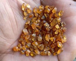 50 Ct Natural Orange Garnet Rough Gemstone Parcel VA4971