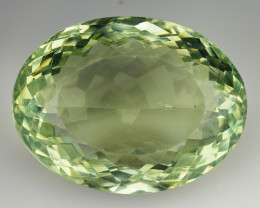 31.90 CT PRASOILITE TOP CLASS CUT GEMSTONE P2