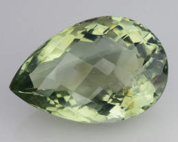 22.60 CT PRASOILITE TOP CLASS CUT GEMSTONE P3