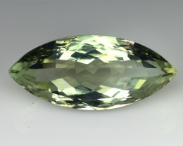 12.59 CT PRASOILITE TOP CLASS CUT GEMSTONE P10