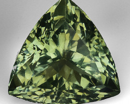 7.69 CT PRASOILITE TOP CLASS CUT GEMSTONE P31