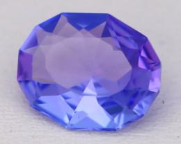 Tanzanite 2.27Ct VVS Oval Cut Natural Purplish Blue Tanzanite B1704
