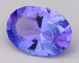 Tanzanite 2.67Ct VVS Oval Cut Natural Purplish Blue Tanzanite B1706