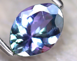 Tanzanite 0.98Ct Natural Purplish Blue Tanzanite D2011/D3