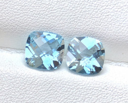 Top Quality 2.50 ct Swiss Topaz Pair