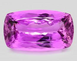 127.40 Ct Pink Kunzite Exceptional Color Top Gemstone PK10