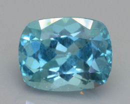 Rare 3.55 ct Amazing Luster Blue Apatite SKU.19