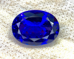 18.15 carat natural Tanzanite Gemstone.