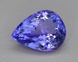 Natural Tanzanite 11.21 Cts Top Grade  Faceted Gemstone