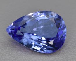 Natural Tanzanite 13.45 Cts Top Grade  Faceted Gemstone