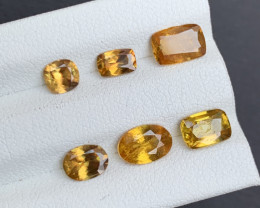 4.85 Carats Sphene Titanite Gemstones