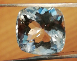 Aquamarine, 8.10ct, extremly beautifull high quality gem! SI!