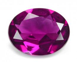 Umbalite Garnet 2.41 Cts Unheated Natural Purple Color Gemstone