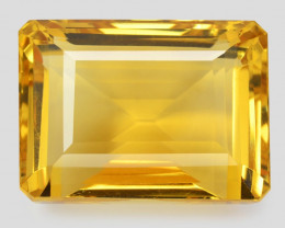 *NoReserve*Citrine 55.81 Cts HUGE Fancy Golden Yellow Color Natural