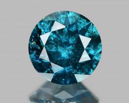 *No Reserve* Diamond 0.51 Cts Sparkling Rare Fancy Blue Color Natural Diamo