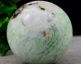 Genuine 892.00 .00 Cts Amazonite Hand Carved Healing Ball