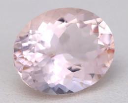 3.39Ct Natural Sweet Pink Morganite VVS Pink Beryl Madagascar A1802