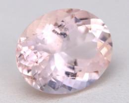 3.31Ct Natural Sweet Pink Morganite VS Pink Beryl Madagascar A1809