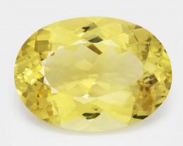 Beryl 18.36 Cts Rare Golden Yellow Natural Gemstone