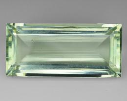14.62 Cts Prasiolite Stunning Cut and Luster ~ PR5