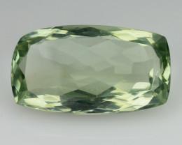 10.98 Cts Prasiolite Stunning Cut and Luster ~ PR12