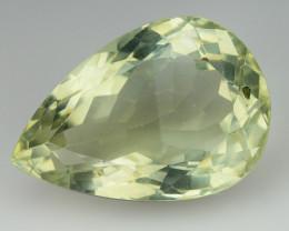 14.65 Cts Prasiolite Stunning Cut and Luster ~ PR17