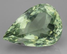 13.61 Cts Prasiolite Stunning Cut and Luster ~ PR22