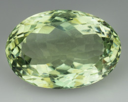 14.22 Cts Prasiolite Stunning Cut and Luster ~ PR26