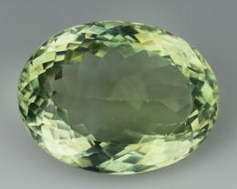 11.68 Cts Prasiolite Stunning Cut and Luster ~ PR28