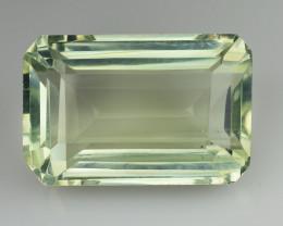 12.12 Cts Prasiolite Stunning Cut and Luster ~ PR30