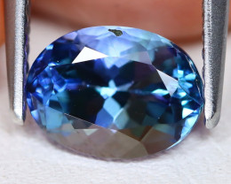 Tanzanite 1.78Ct Oval Cut Natural Purplish Blue Tanzanite C1809