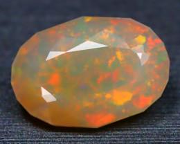 2.94Ct Flora Confetti Starburst Rainbow Neon Flash Welo Opal B1818