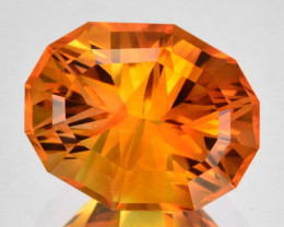 ~CUSTOM CUT~ 4.60 Cts Natural Madeira Orange Citrine Fancy Oval Brazil